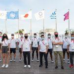 El presidente del COI se reúne con atletas refugiados en la Villa Olímpica