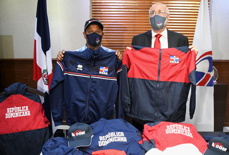 COD presenta indumentaria utilizará delegación dominicana va a Tokio