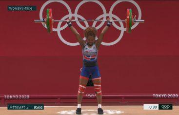 Beatriz Pirón finaliza en el octavo puesto en su regreso a Juegos Olímpicos
