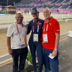 Atletas reciben apoyo de líderes deportivos