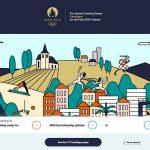 Paris 2024 presenta el sitio que hace referencia a los centros de preparación de juegos