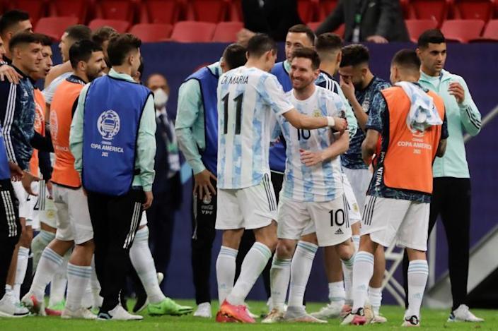 Argentina y Brasil se citan 14 años después para otra Copa América
