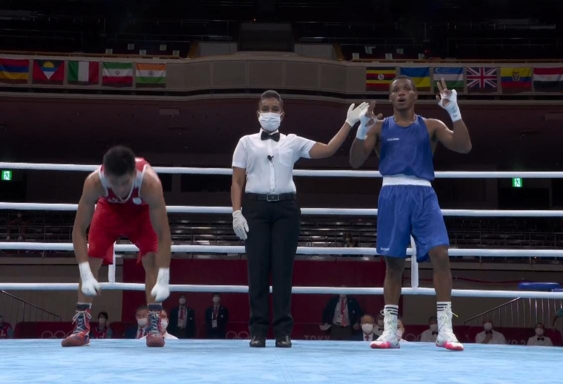 Euri Cedeño avanza a cuartos de final boxeo Juegos de Tokio