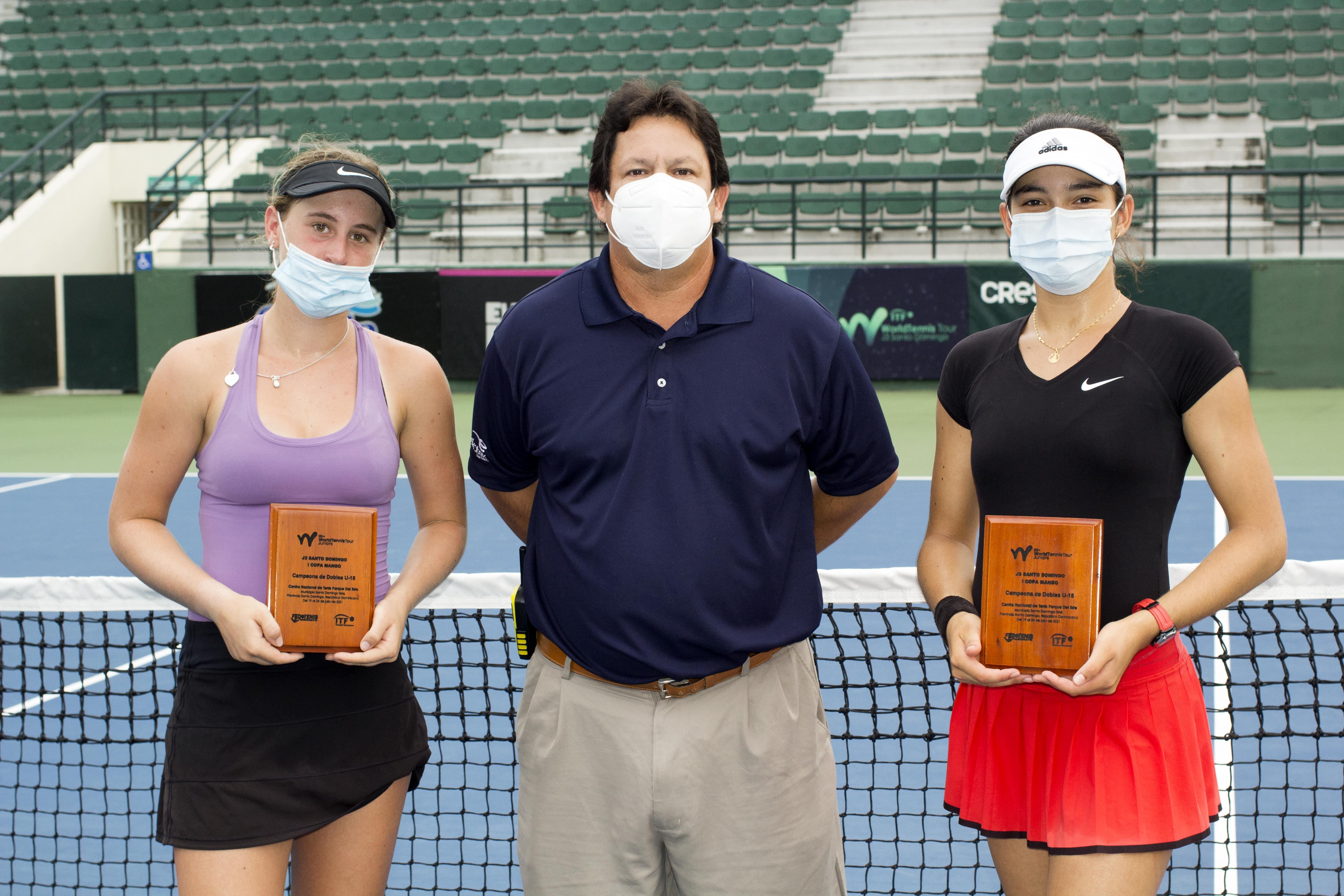 Pacheco-Álvarez y Castaño-Larke, campeones de dobles Copa Mango