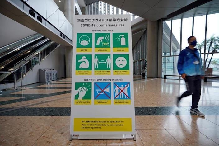 Tokio 2020 contempla ahora estadios sin público ante repunte contagios