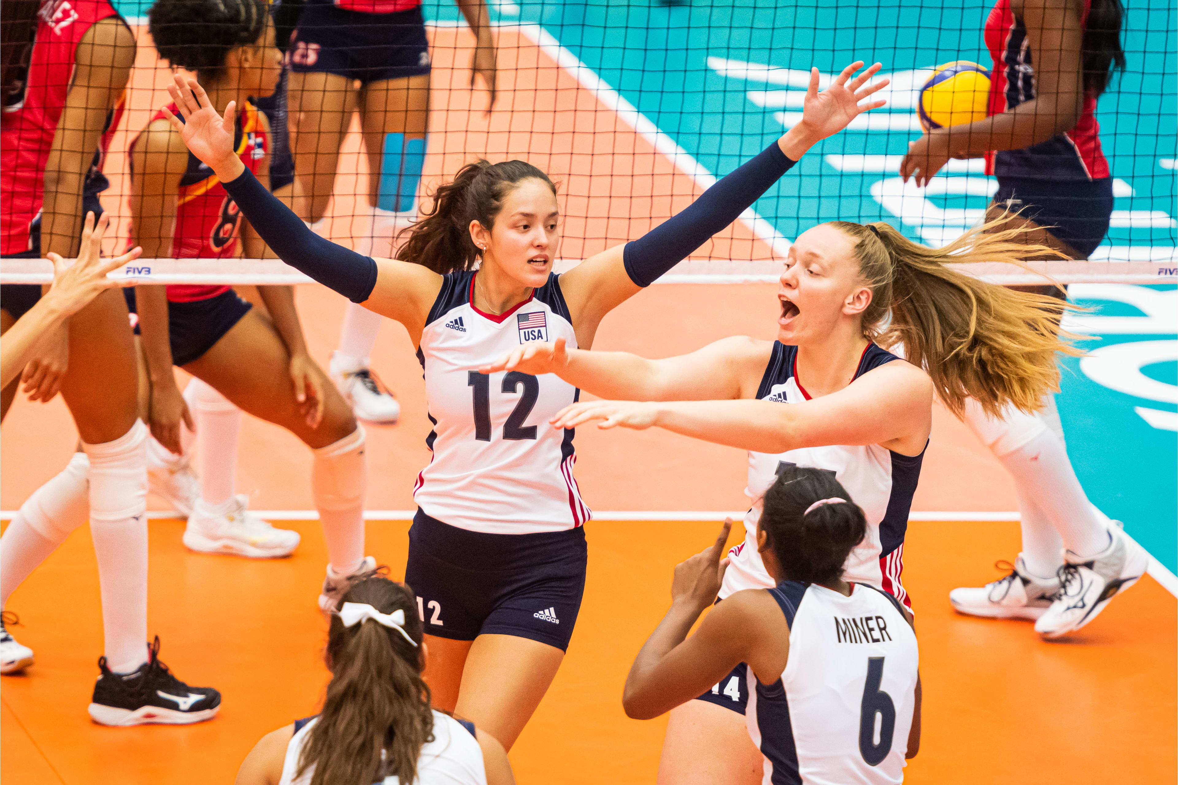 Voleibol RD cae ante Estados Unidos en Mundial Sub - 20