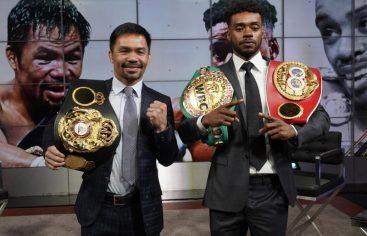 Manny Pacquiao anuncia una pelea con Errol Spence Jr