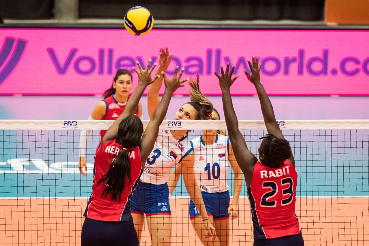 Sexteto RD cae ante Serbia en inicio del Mundial sub-20 femenino