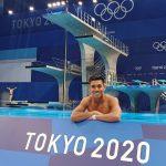 Jonathan Ruvalcaba se despide en semis de clavado en Tokio 2020