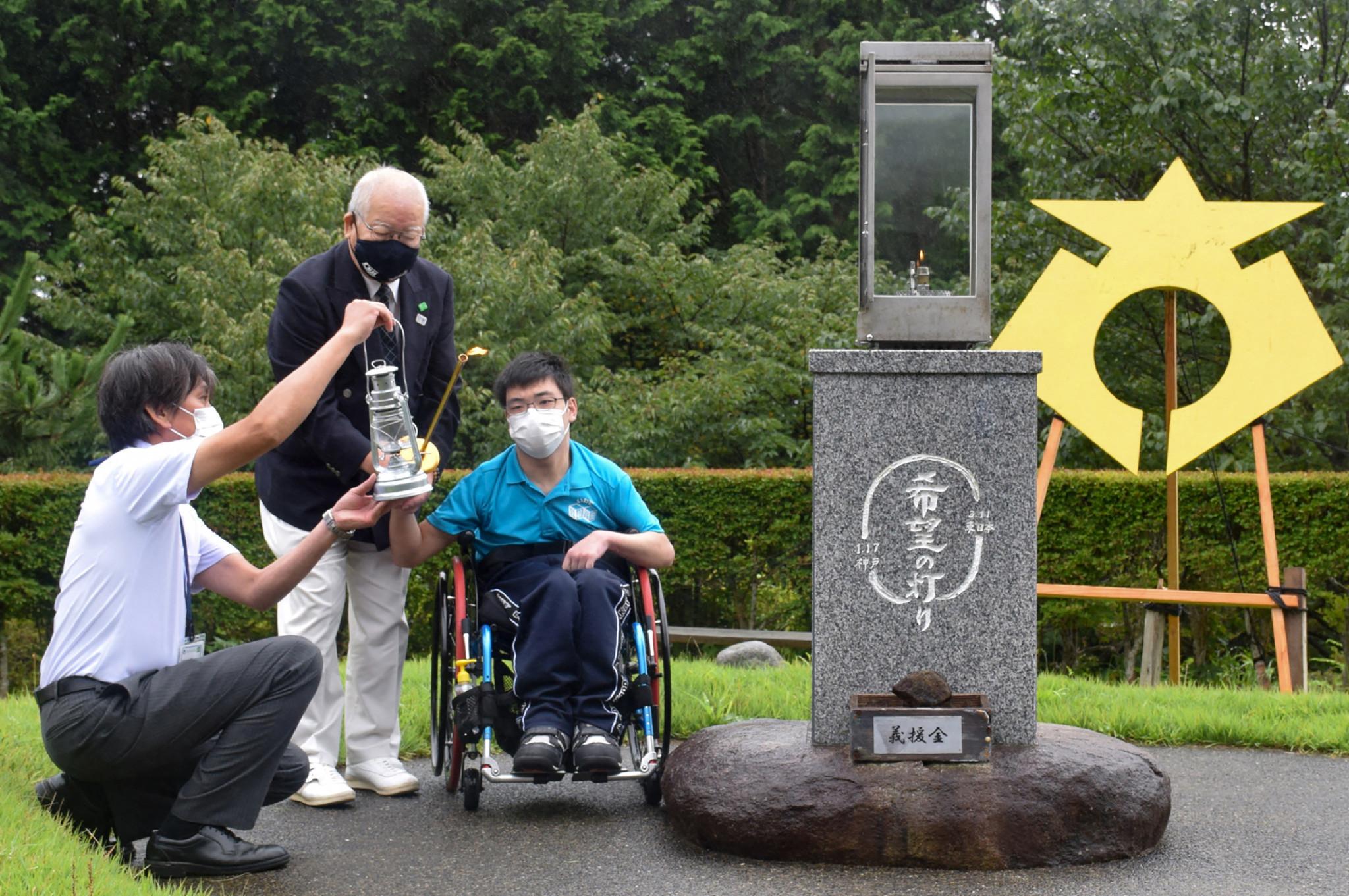 Llamas Paralímpicas encendidas en Japón para marcar el inicio del Relevo de la Antorcha