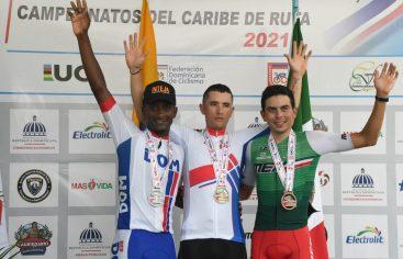 Jesús Marte gana la plata en el Campeonato Panamericano de Ciclismo