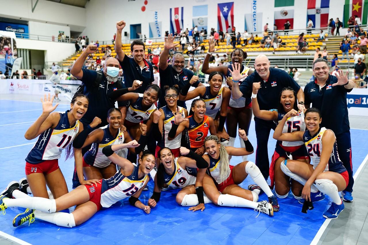 Voleibol RD gana 5ta corona al hilo en Sub-23;  Madeline Guillén, electa la Jugadora Más Valiosa