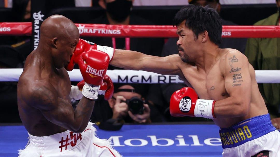 Yordenis Ugás vence a Manny Pacquiao y retiene la corona mundial