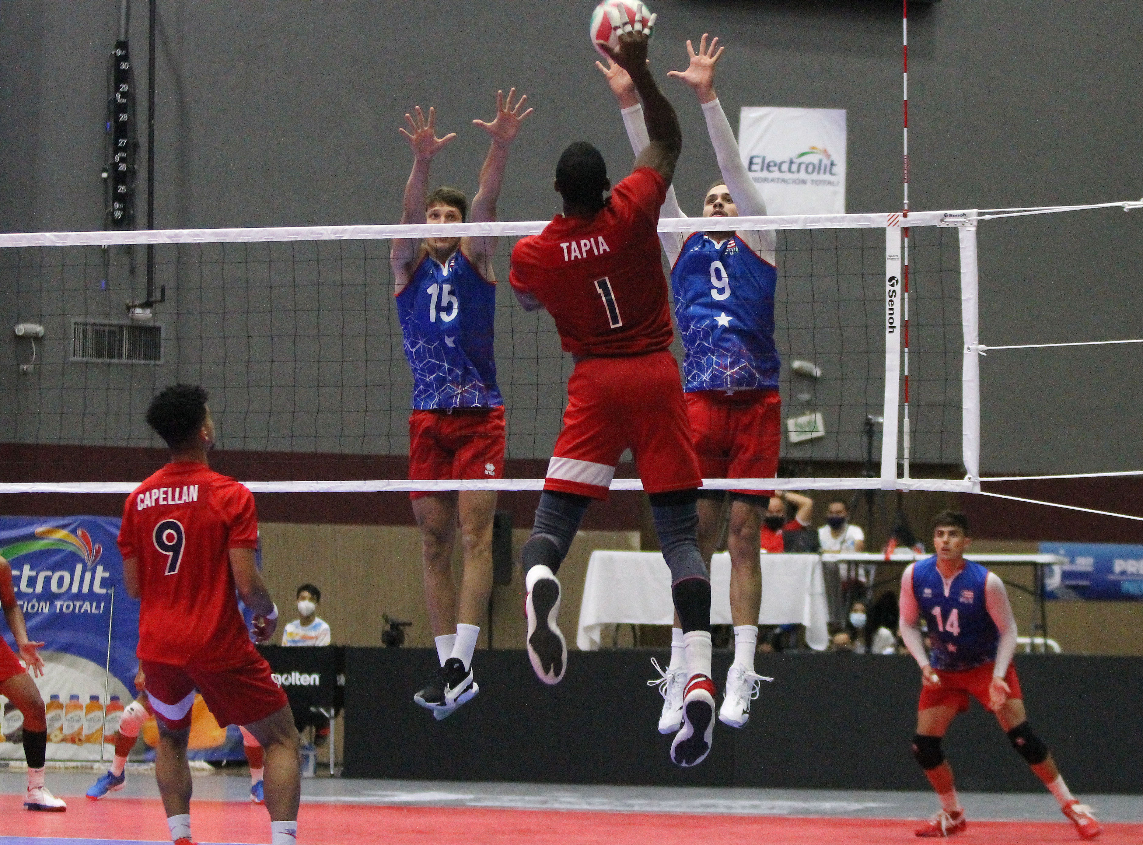 Anuncian Copa Panamericana Voleibol Masculino