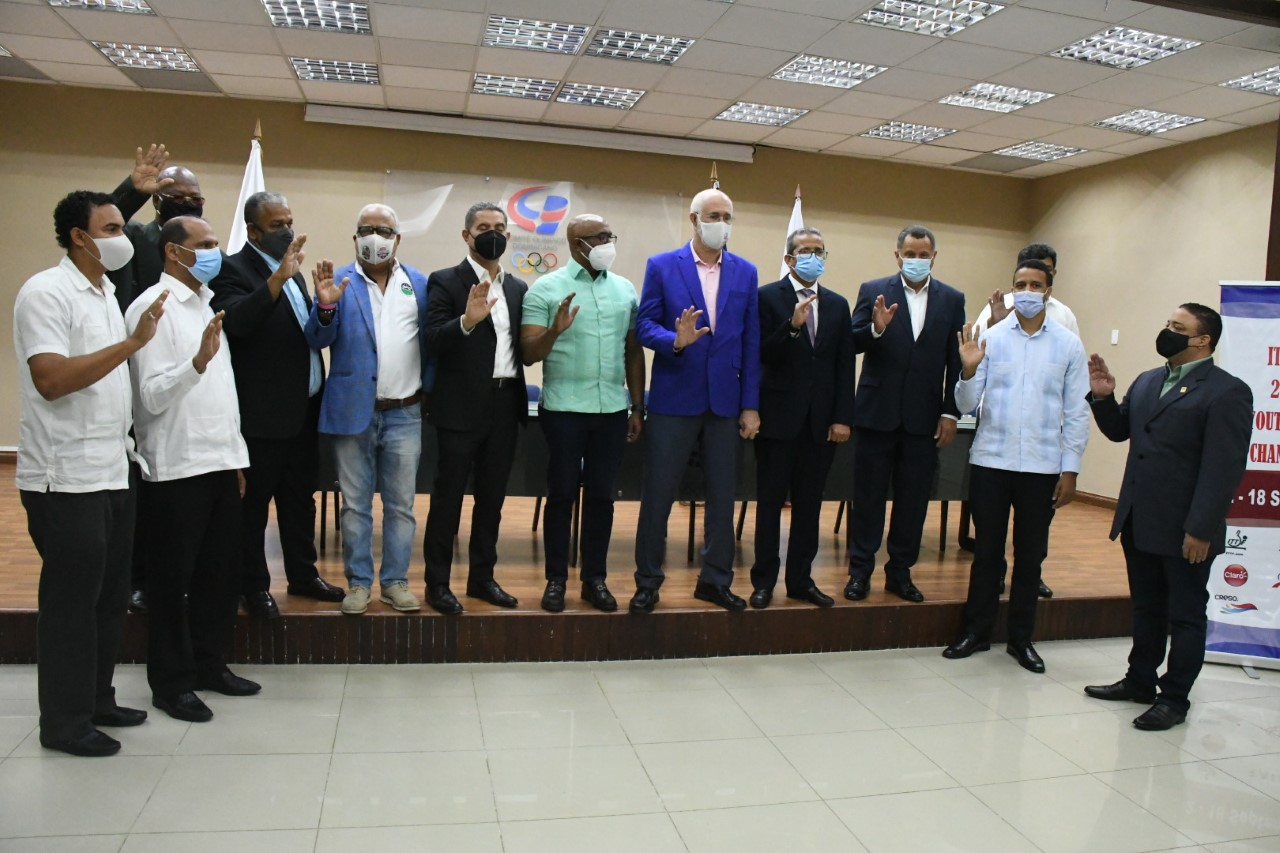 Fedoteme juramenta comité organizador torneo juvenil e infantil