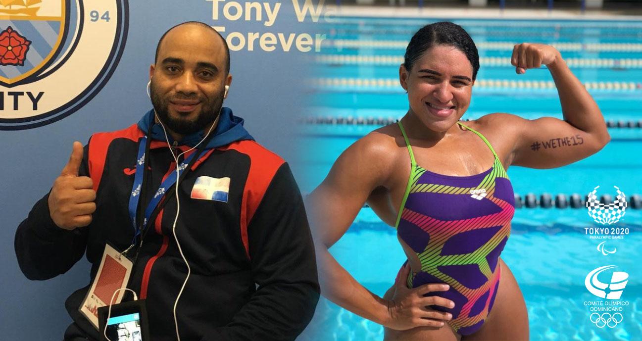 Abud y Aybar serán primeros en competir en Juegos Paralímpicos de Tokio