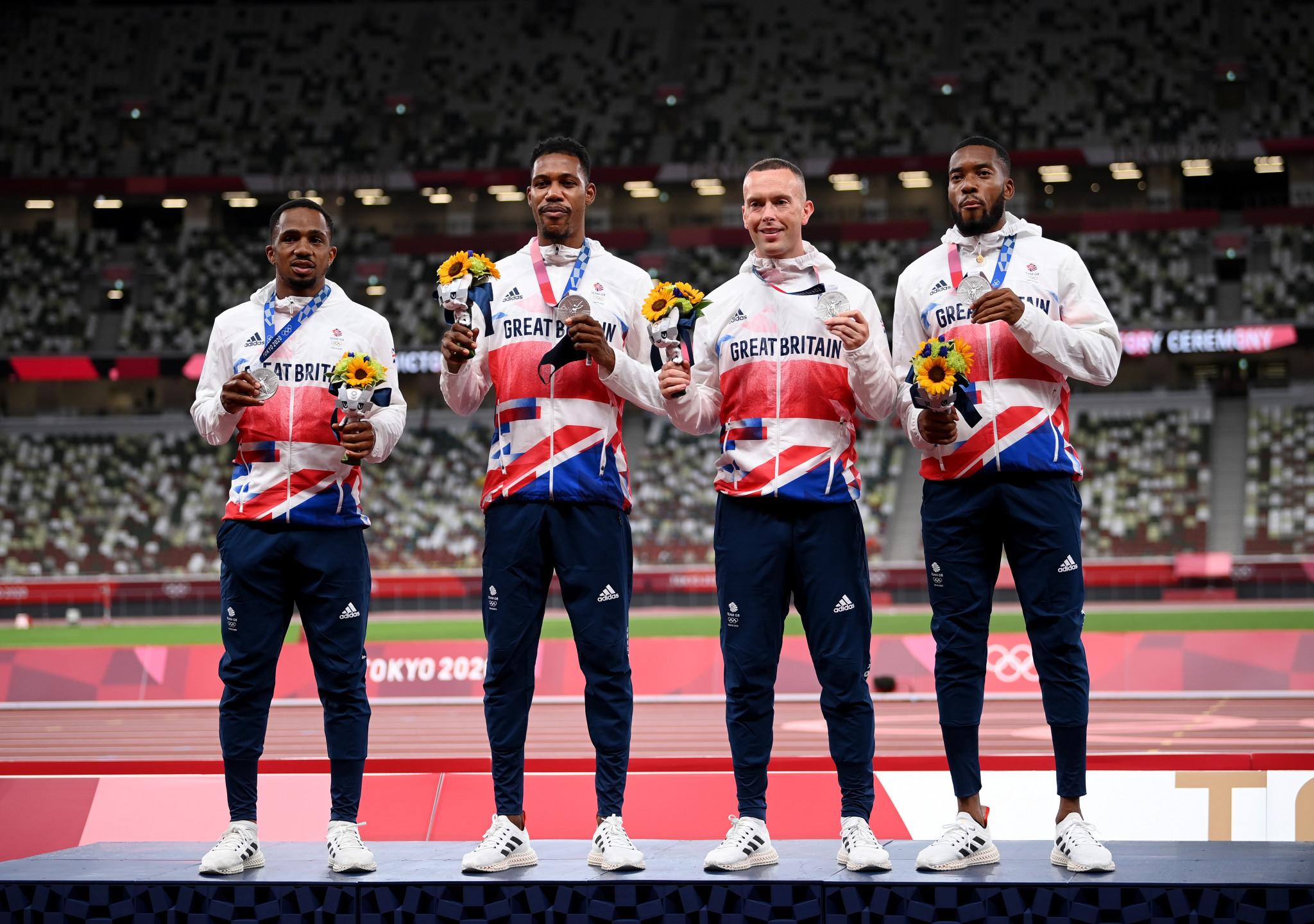 Medalla de plata británica 4x100 de podría ser despojada por dopaje