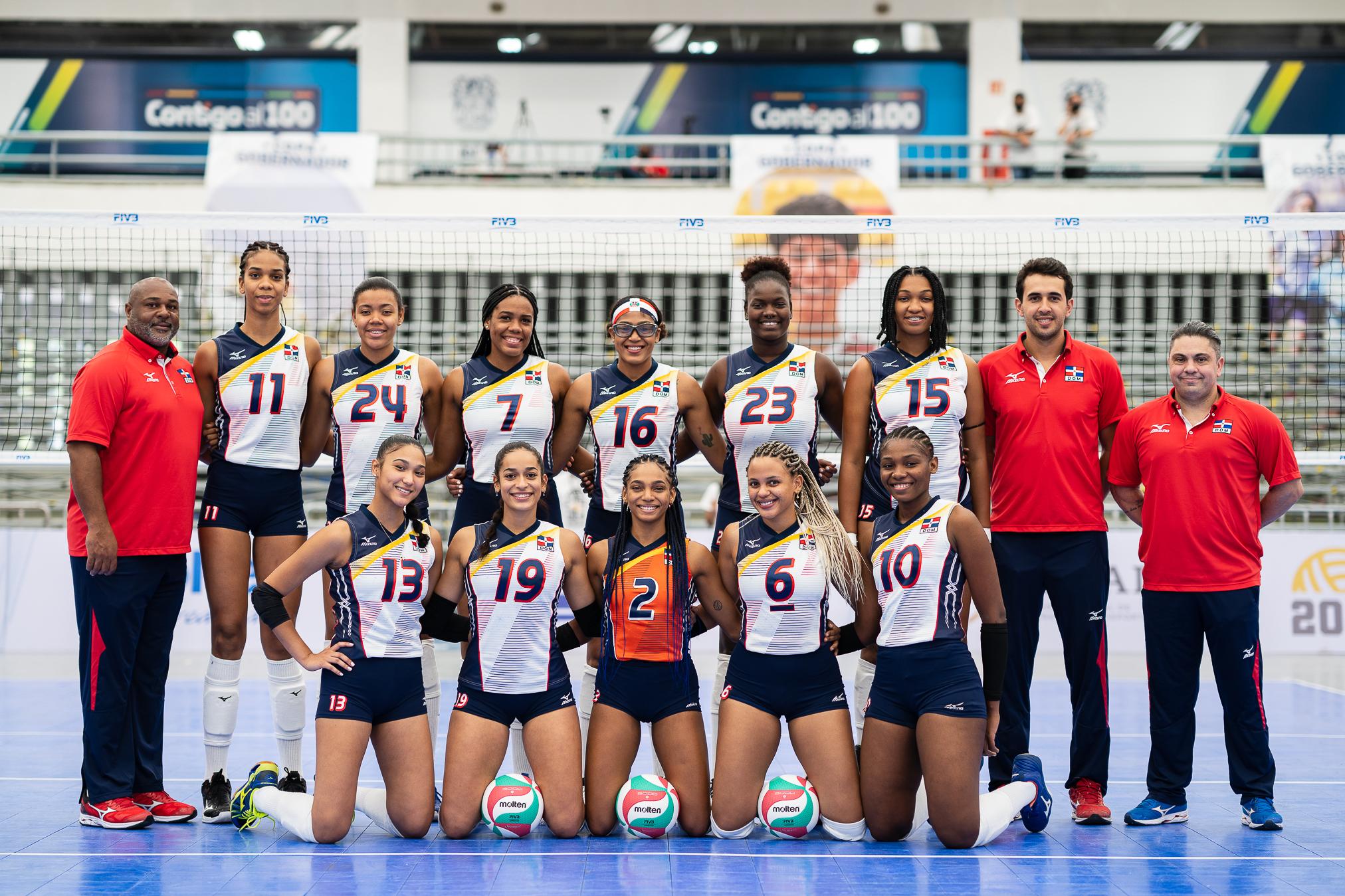 Voleibol RD Sub-23 clasifica a Cali-Valle 2020