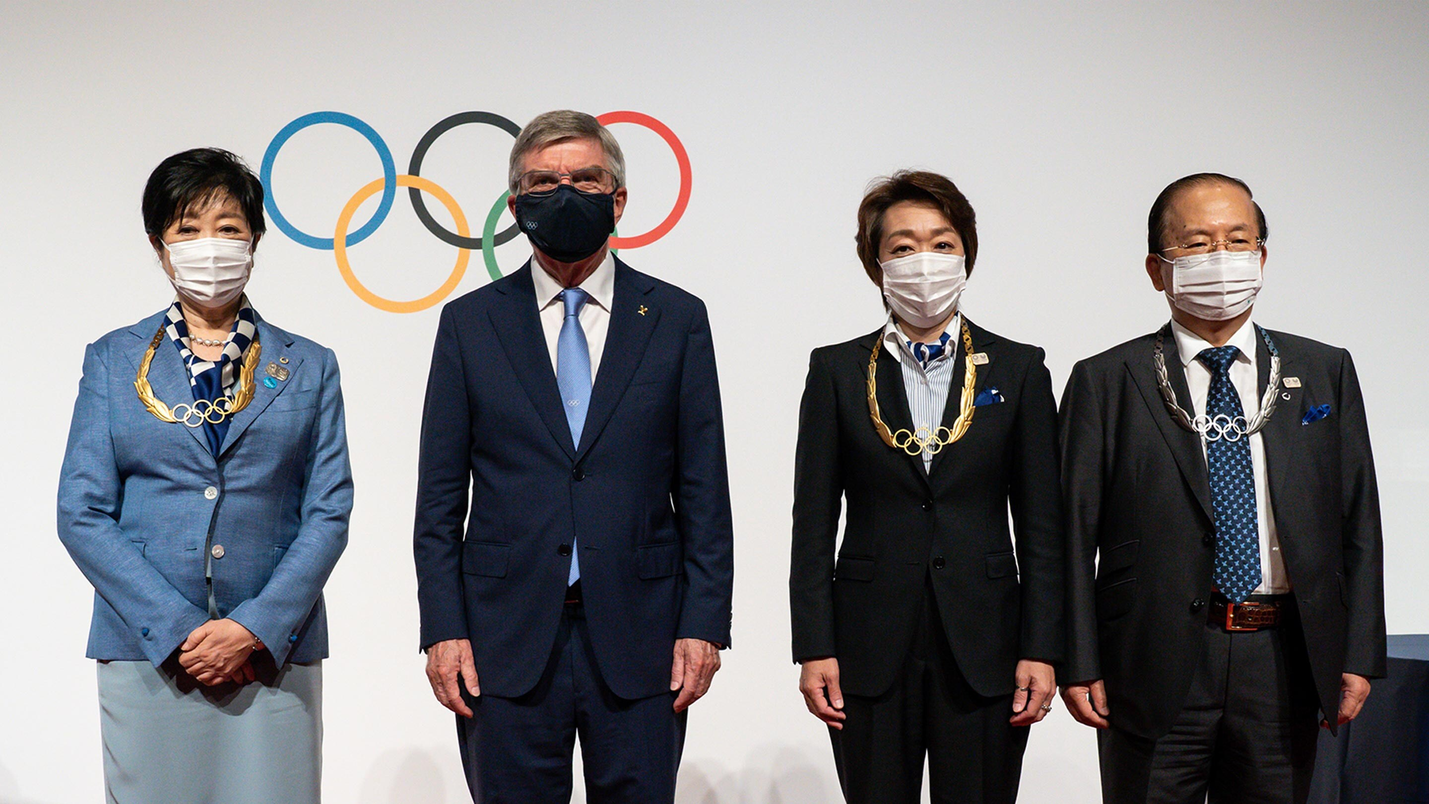 Presidente del COI agradece a Japón al otorgar la Orden Olímpica a responsables Tokio 2020