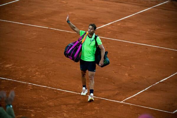 Nadal se perderá US Open y resto de la temporada por lesión