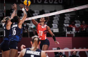 Estados Unidos impide voleibol RD avance a semifinal