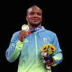 Medallista ucraniano fue objeto abuso racial tras retornar a su país
