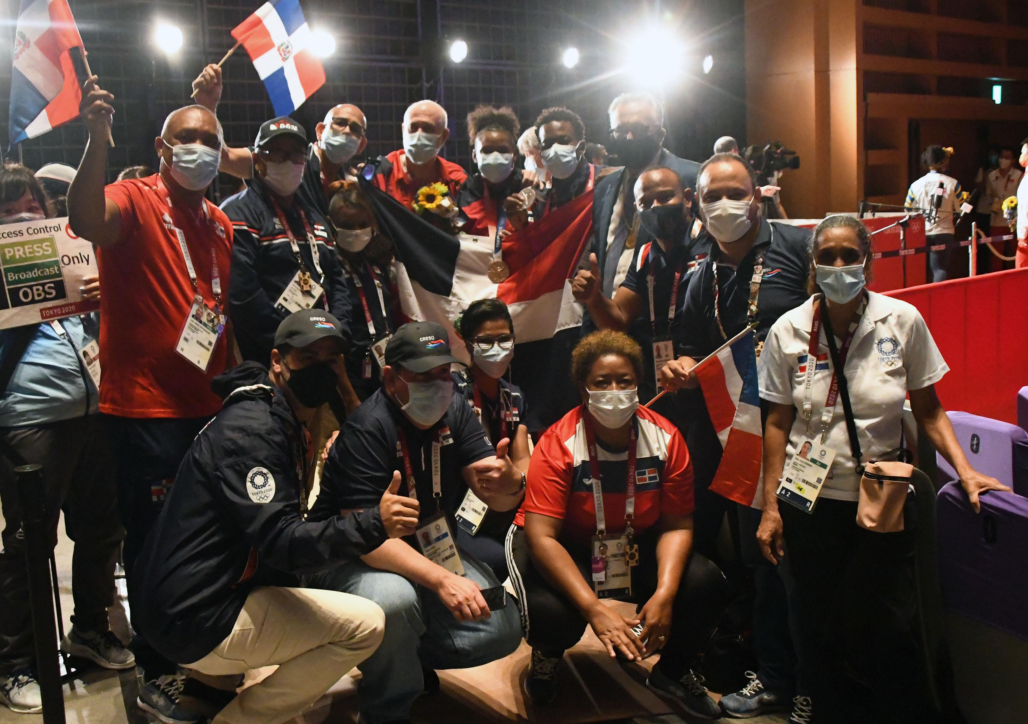Acosta destaca el orgullo mostrado en JJOO por atletas dominicanos