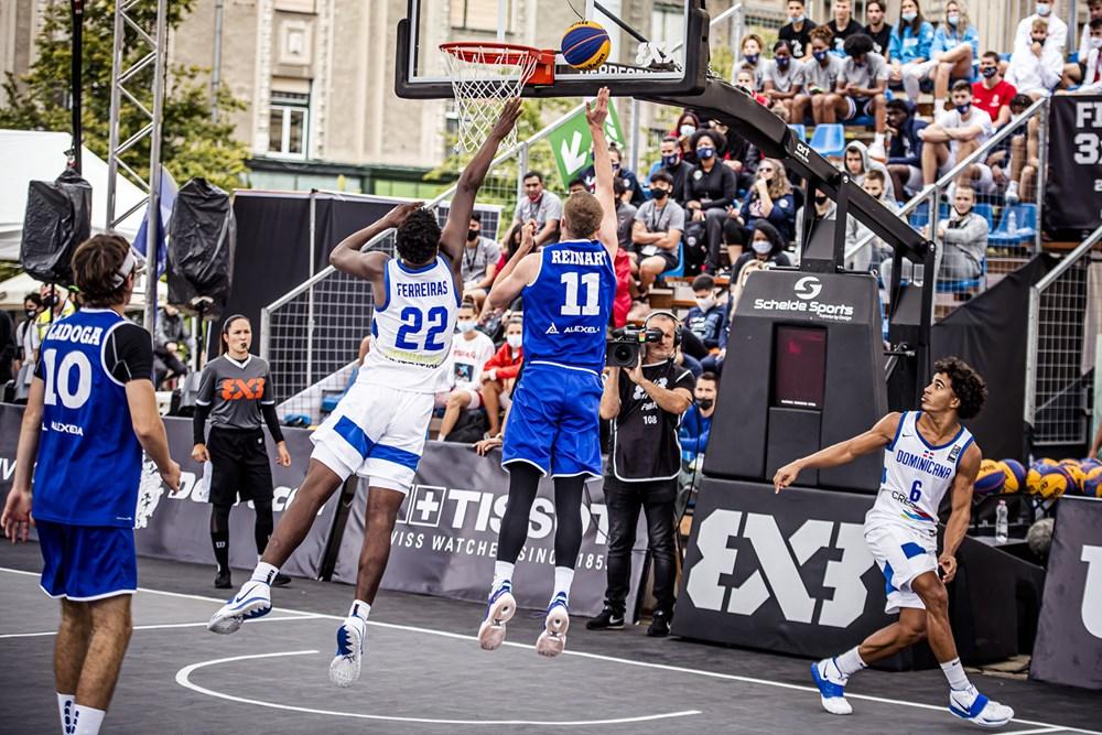 Baloncesto RD 3x3 cayó en los cuartos  de final Mundial U18