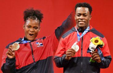 Medallistas olímpicos Bonnat y Crismery llegan al país este jueves
