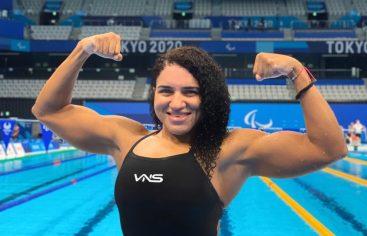Alejandra Aybar culmina octava en 100 metros mariposa S8 de Tokio 2020