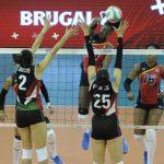 Voleibol RD vence 3-0 a México  y sigue invicta en la Copa Panam