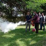 Empleados del COD reciben adiestramiento para prevenir incendios