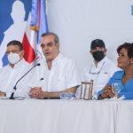 Luis Abinader entrega a Santo Domingo Oeste un complejo de instalaciones deportivas