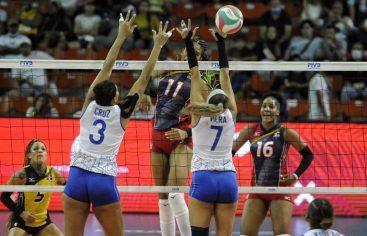 Voleibol RD vence a Puerto Rico y mantiene invicto en Copa Panam
