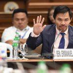Manny Pacquiao anuncia su candidatura a presidente en Filipinas