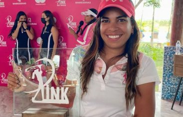 Mariel Villalona gana categoría B cuarta parada del PINK Golf Tour RD
