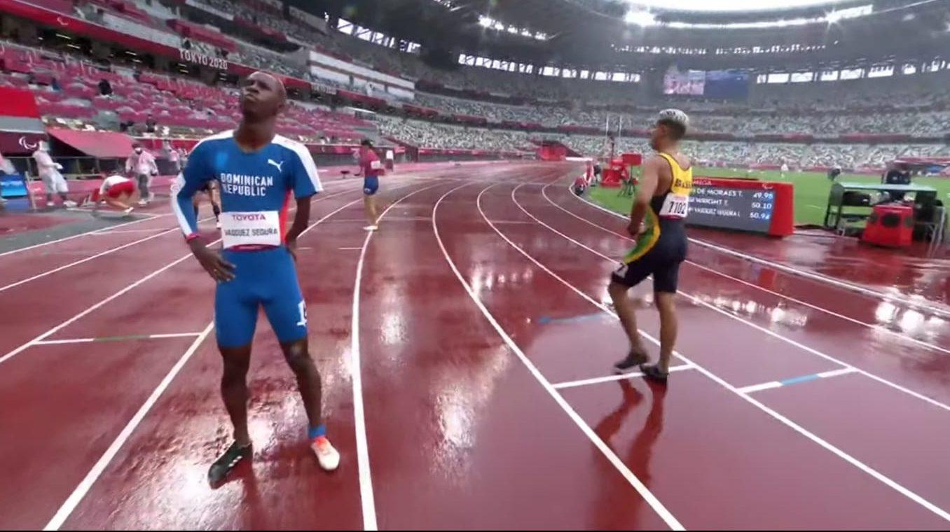 Luis Vásquez a la final 400 metros en Paralímpicos Tokio