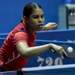 Rojas, Vila y Darley avanzan en sencillos campeonato tenis de mesa
