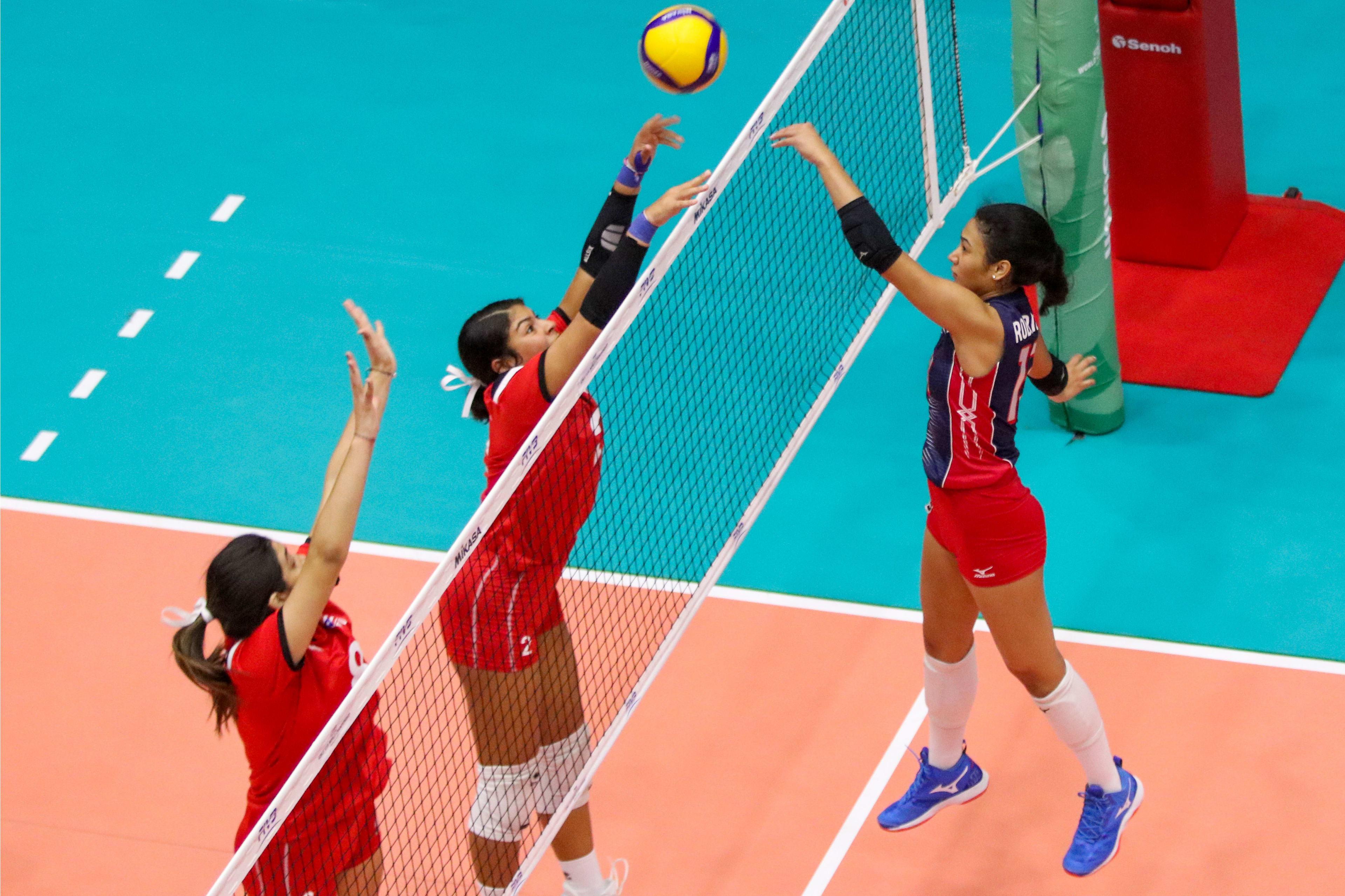 Voleibol RD vence 3-1 a Puerto Rico en Campeonato Mundial U-18