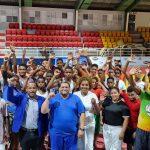 Fedojudo realiza campamento simultáneo con atletas infantiles