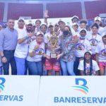 Las Murallas se llevan el trofeo Liga Nacional de Baloncesto Femenina