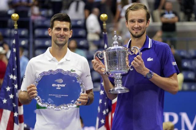 Medvedev destrozó ilusión de Djokovic de alcanzar dos grandes marcas