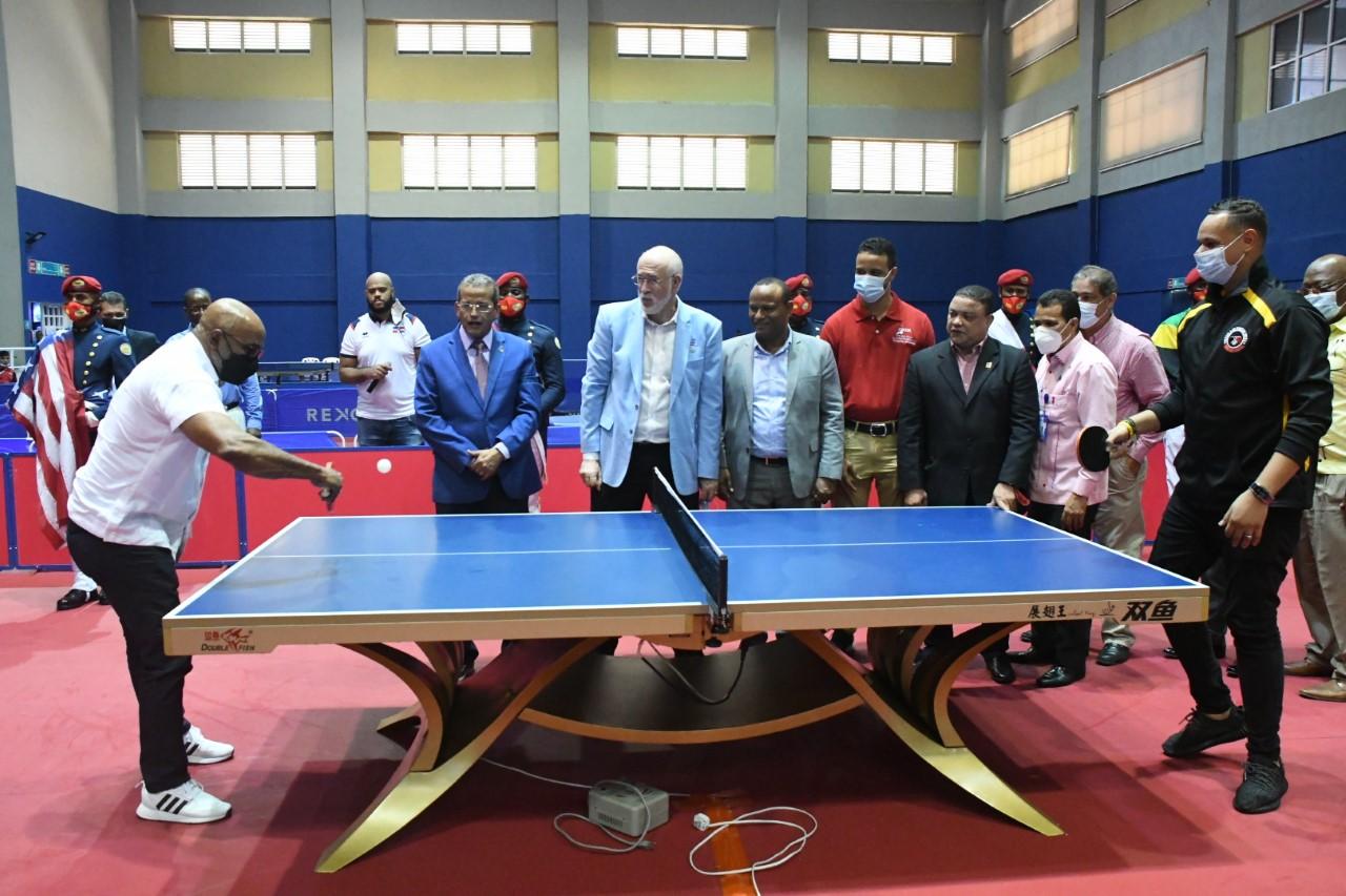 Equipo U-15 masculino accede a la semifinal Panam Tenis de Mesa