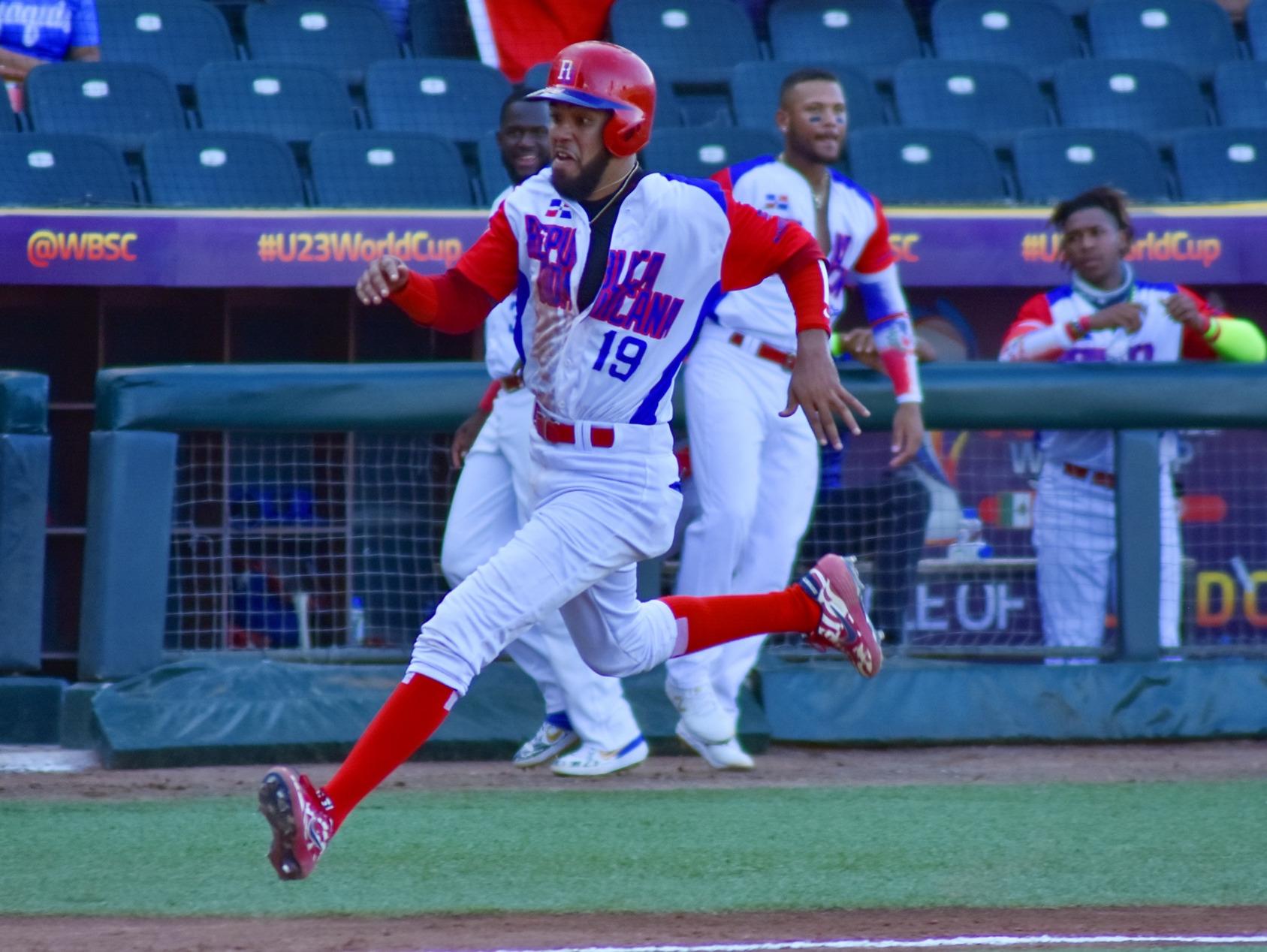 República Dominicana gana cerrado partido contra República Checa en Mundial U23 de Béisbol