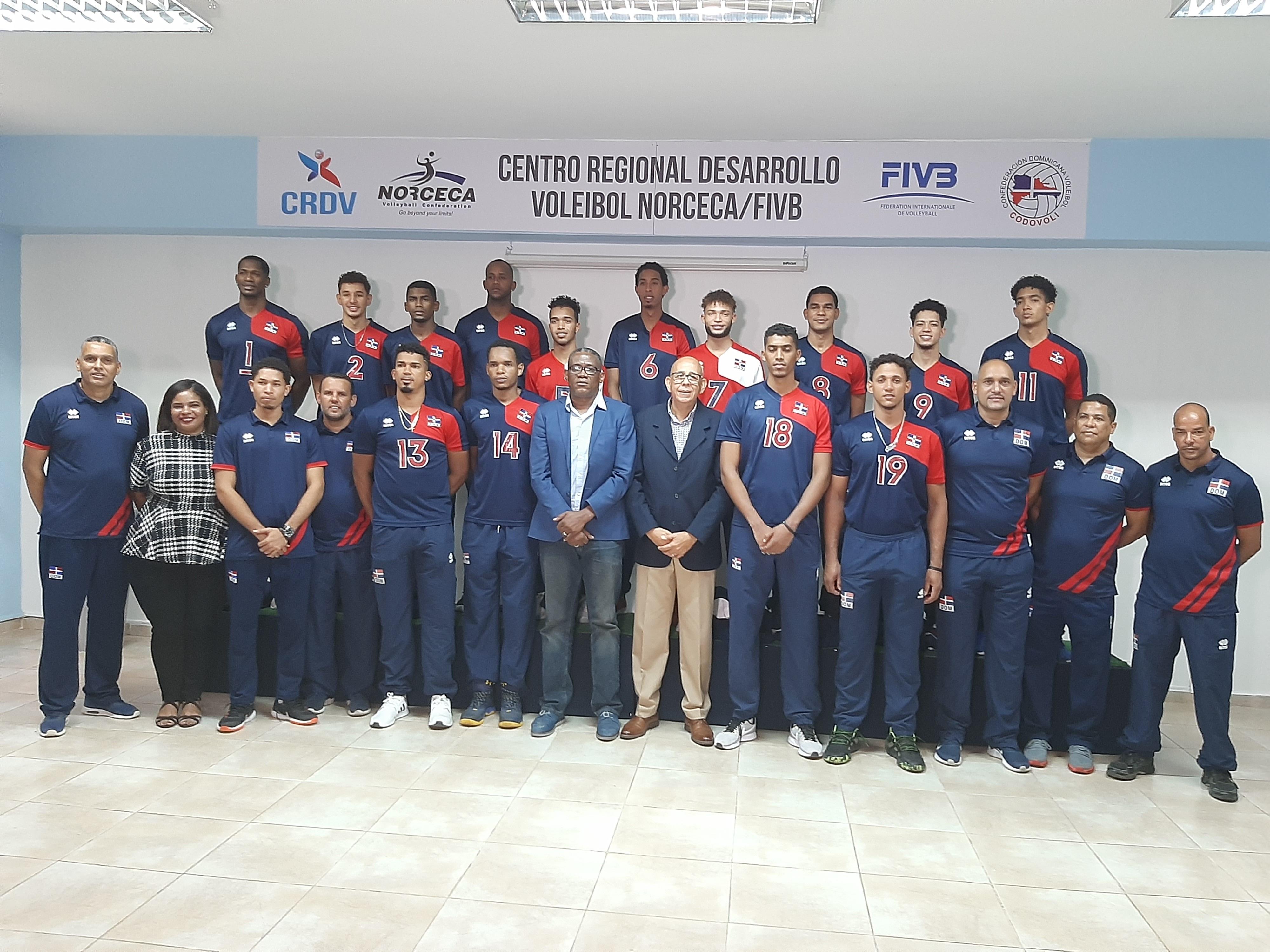 Voleibol RD debutará ante Puerto Rico  este viernes en inicio de la  Copa Panam Masculina