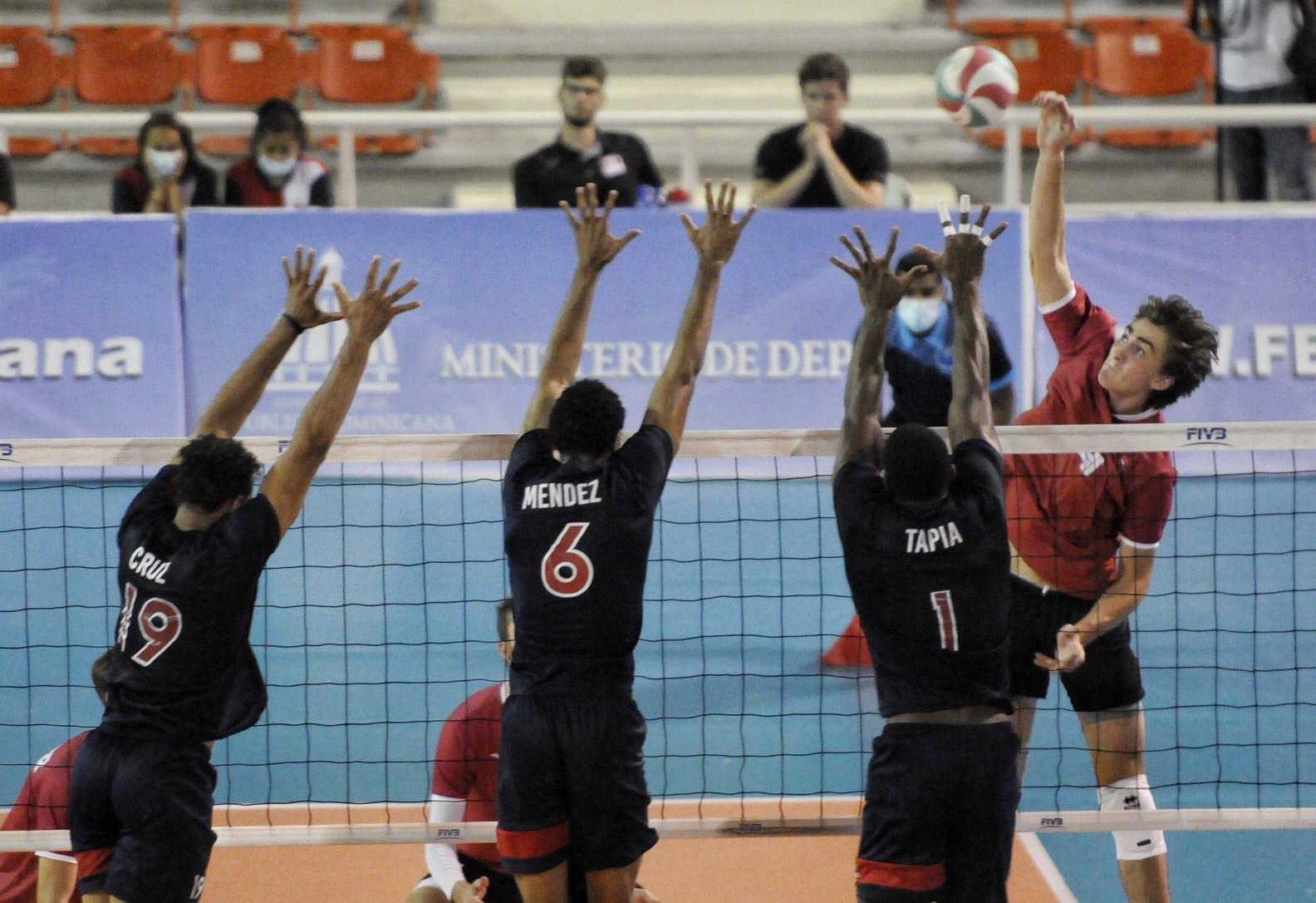 Canadá derrota a RD en clasificatorio Panam voleibol masculino