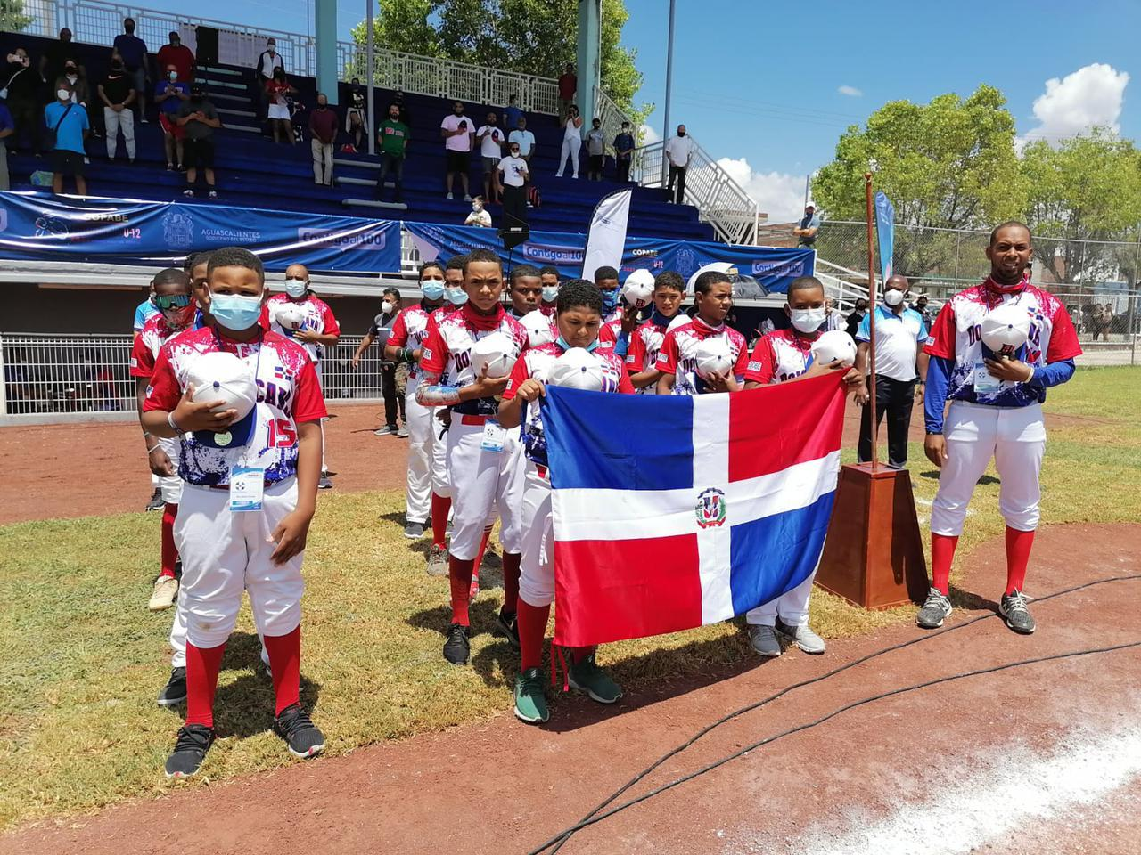 Equipo dominicano U12 béisbol clasifica Mundial 2022