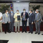 Miderec y Liga Municipal firman acuerdo para  Juegos Municipales