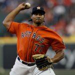 Luis García abrirá sexto juego de Houston con Boston