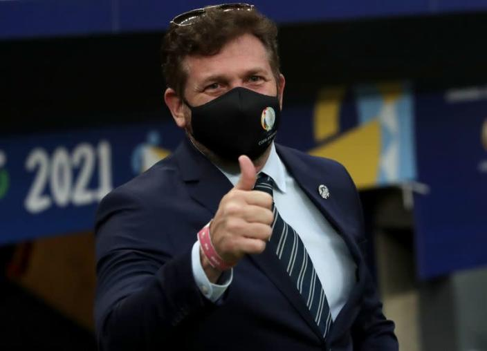 Presidente de Conmebol considera suspensión entre Brasil-Argentina se debe